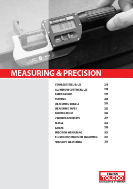 Measuring & Precision